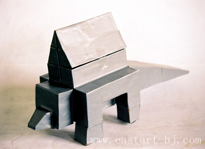 立体椅子简笔画